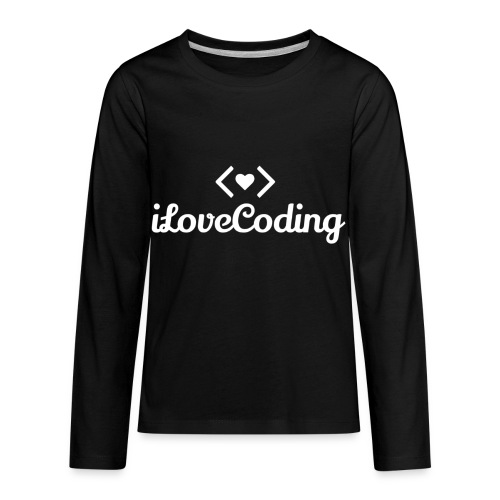 I Love Coding - Kids' Premium Long Sleeve T-Shirt