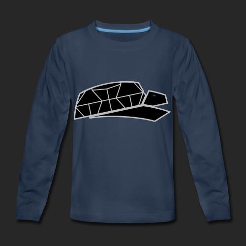 Turtle Go - Kids' Premium Long Sleeve T-Shirt