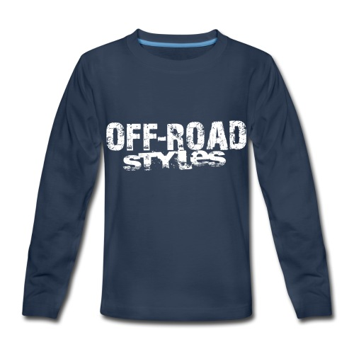 Lifted 4x4 Ford Truck Baby & Toddler Shirts - Kids' Premium Long Sleeve T-Shirt