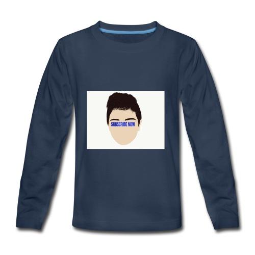 Fernando Cortez merck - Kids' Premium Long Sleeve T-Shirt
