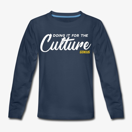 Culture - Kids' Premium Long Sleeve T-Shirt