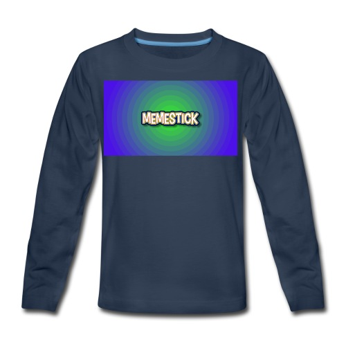 memestick symbol - Kids' Premium Long Sleeve T-Shirt