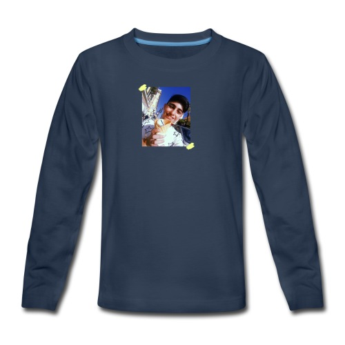 WITH PIC - Kids' Premium Long Sleeve T-Shirt