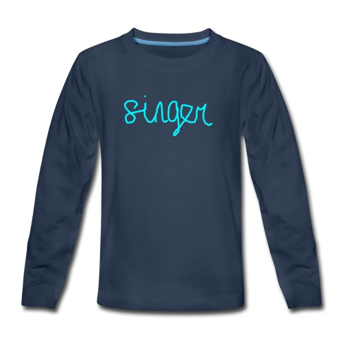 SINGER - Kids' Premium Long Sleeve T-Shirt