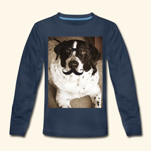 Old Pongo - Kids' Premium Long Sleeve T-Shirt