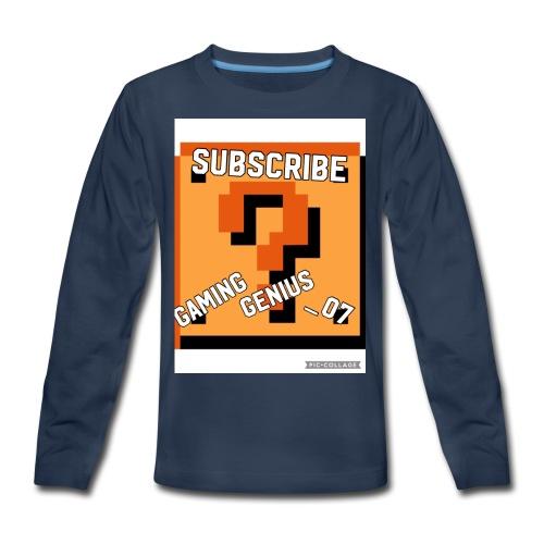 B352BFF4 2E34 449A 996F 7F29B471DB3E - Kids' Premium Long Sleeve T-Shirt