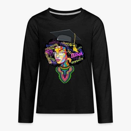 Smart Black Woman - Kids' Premium Long Sleeve T-Shirt