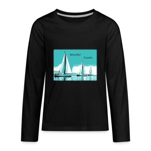 Beautiful Croatia - Kids' Premium Long Sleeve T-Shirt