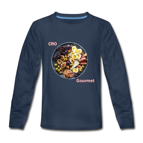 Croatian Gourmet - Kids' Premium Long Sleeve T-Shirt