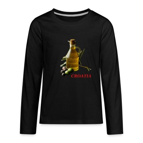 Croatian Gourmet 2 - Kids' Premium Long Sleeve T-Shirt