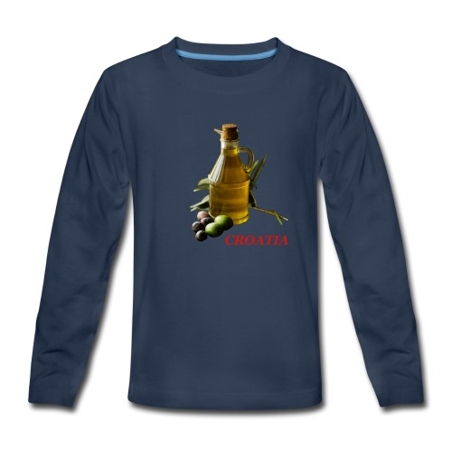 Croatian Gourmet 2 - Kids' Premium Long Sleeve T-Shirt