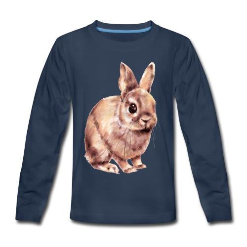 Rabbit - Kids' Premium Long Sleeve T-Shirt