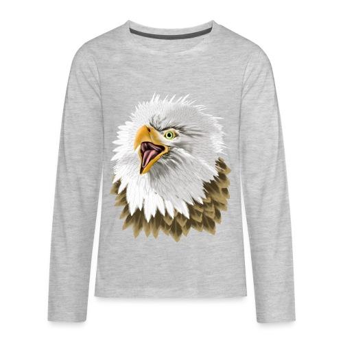 Big, Bold Eagle - Kids' Premium Long Sleeve T-Shirt