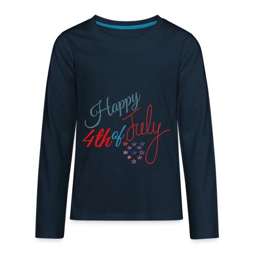 Happy 4th of July - Kids' Premium Long Sleeve T-Shirt