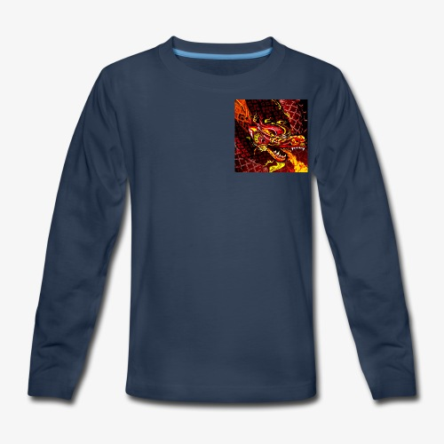 The real kma clan logo - Kids' Premium Long Sleeve T-Shirt