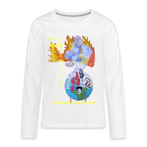 Mayo-Conspiracy - Kids' Premium Long Sleeve T-Shirt