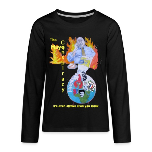 Mayo-Conspiracy - Kids' Premium Long Sleeve T-Shirt