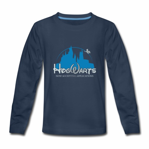 Castle Mashup - Kids' Premium Long Sleeve T-Shirt