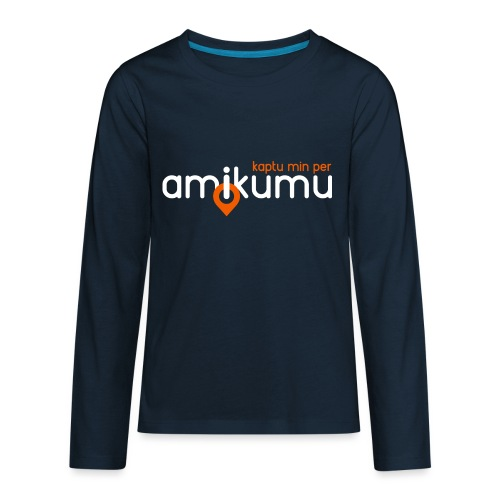 Kaptu min per Amikumu Blanka - Kids' Premium Long Sleeve T-Shirt