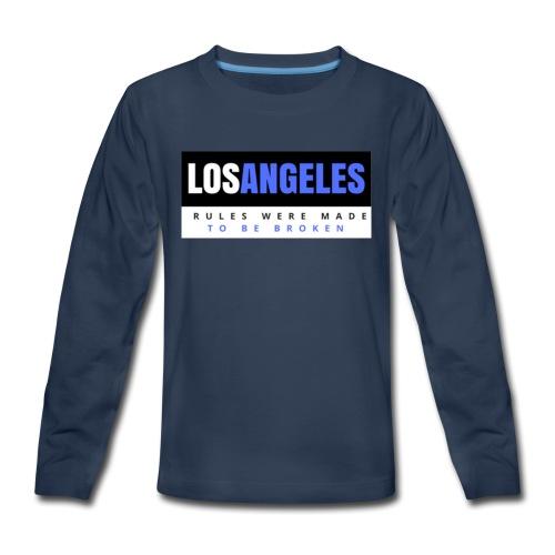 LOS ANGELES - Kids' Premium Long Sleeve T-Shirt