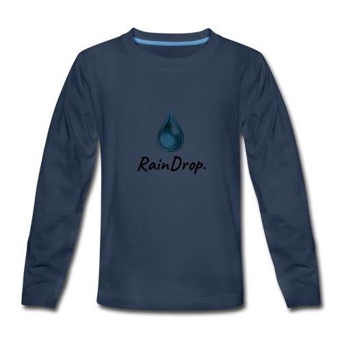 RainDrop - Kids' Premium Long Sleeve T-Shirt