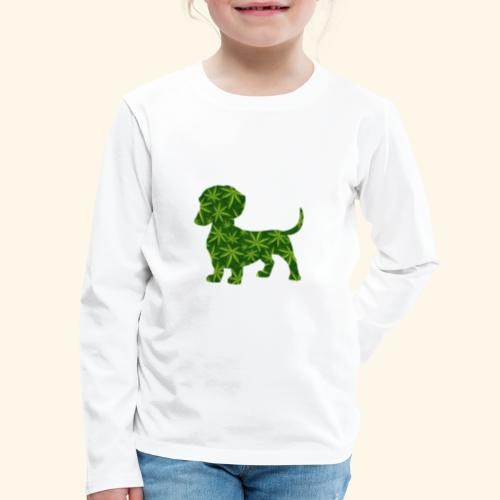 PUFFY DOG - PRESENT FOR SMOKING DOGLOVER - Kids' Premium Long Sleeve T-Shirt