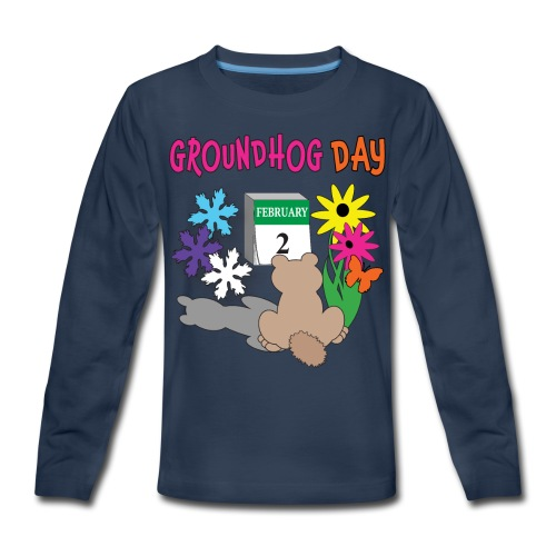 Groundhog Day Dilemma - Kids' Premium Long Sleeve T-Shirt