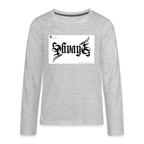 savage - Kids' Premium Long Sleeve T-Shirt