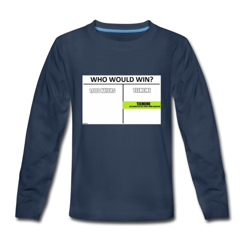 Who Would Win Kid Clothing - Kids' Premium Long Sleeve T-Shirt