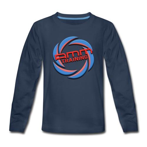 AMMT LOGO WEB - Kids' Premium Long Sleeve T-Shirt