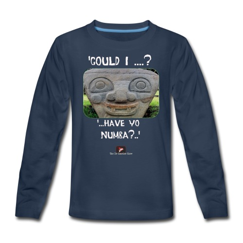 Alien Could I have your Number - Kids' Premium Long Sleeve T-Shirt