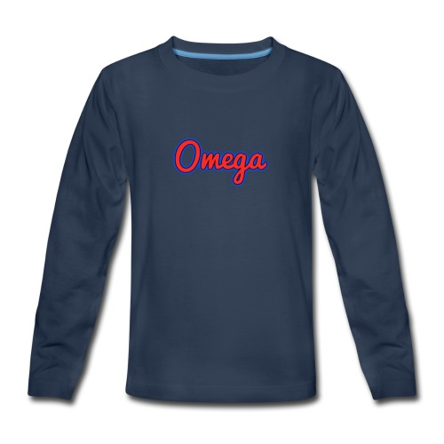 Omega Youth - Kids' Premium Long Sleeve T-Shirt