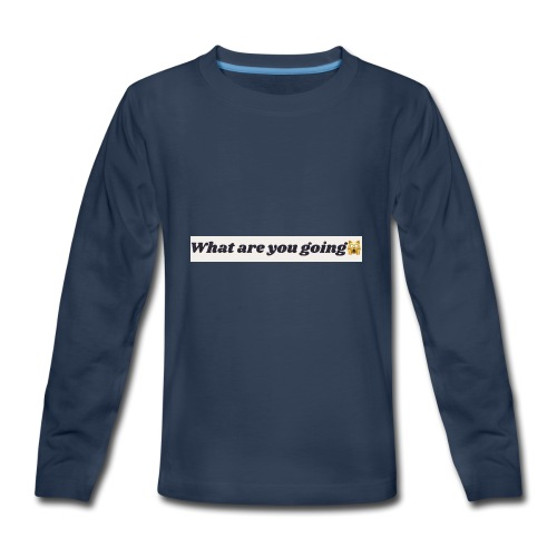 DD6F2EB2 5A9C 4D58 887B 18FA38EAB581 - Kids' Premium Long Sleeve T-Shirt