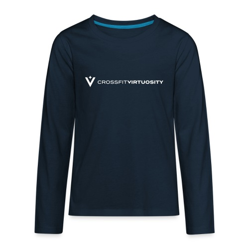 CrossFit Virtuosity Spark - Kids' Premium Long Sleeve T-Shirt