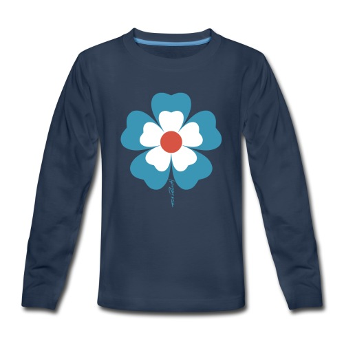 flower time - Kids' Premium Long Sleeve T-Shirt