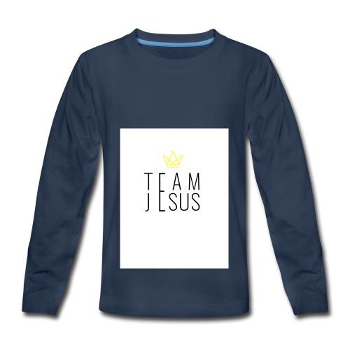 TEAM JESUS3 - Kids' Premium Long Sleeve T-Shirt