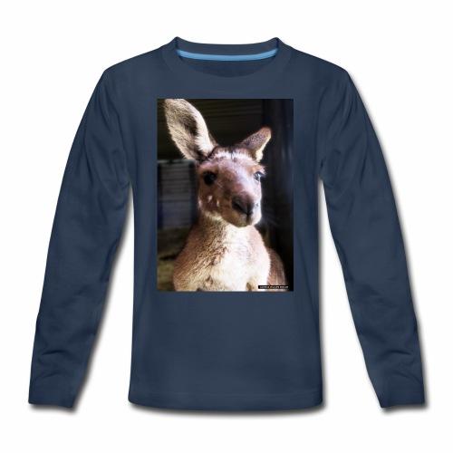 Kangaroo - Kids' Premium Long Sleeve T-Shirt