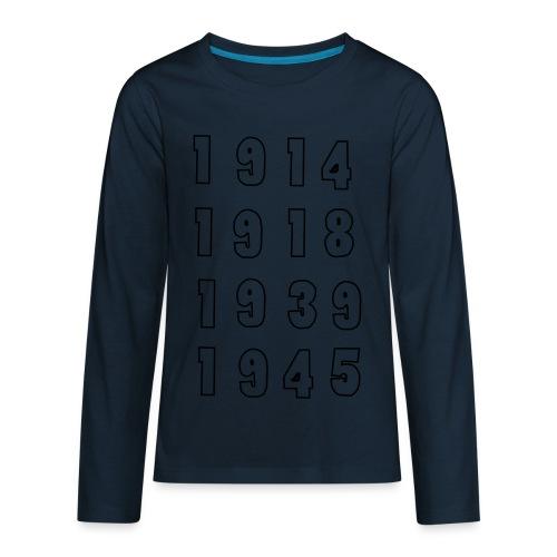 Great War Dates - Kids' Premium Long Sleeve T-Shirt