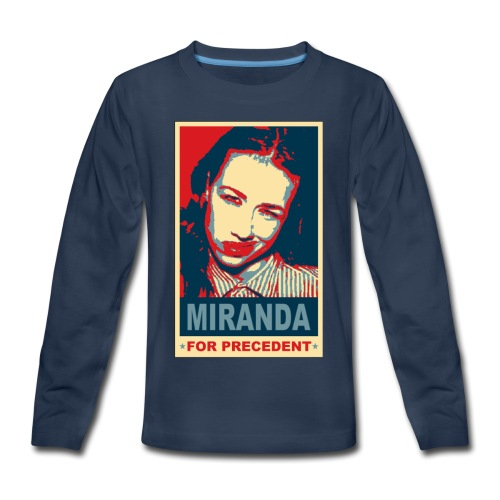 Miranda Sings Miranda For Precedent - Kids' Premium Long Sleeve T-Shirt