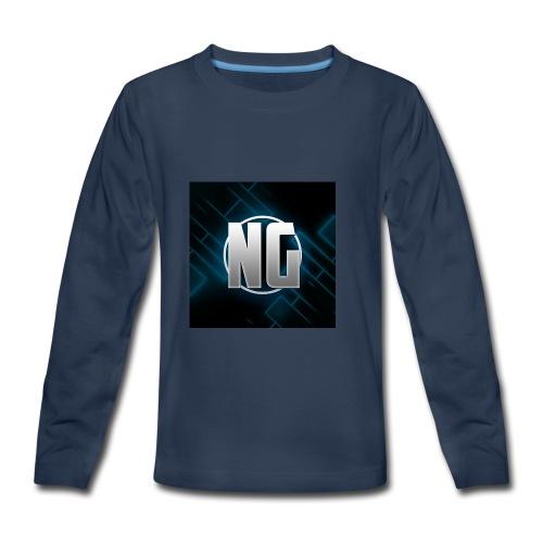 NadhirGamer Merch - Kids' Premium Long Sleeve T-Shirt