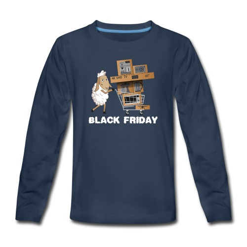 Black Friday or The day of Panurge's Sheeps - Kids' Premium Long Sleeve T-Shirt