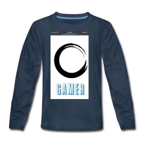 Caedens merch store - Kids' Premium Long Sleeve T-Shirt