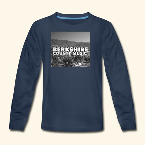 Berkshire County Music Black/White - Kids' Premium Long Sleeve T-Shirt
