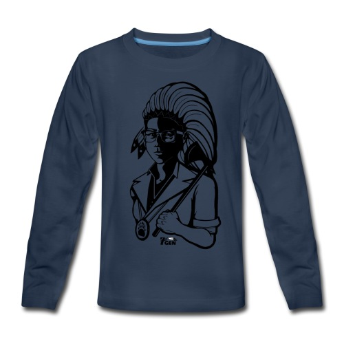 TwoLives - 7thGen - Kids' Premium Long Sleeve T-Shirt
