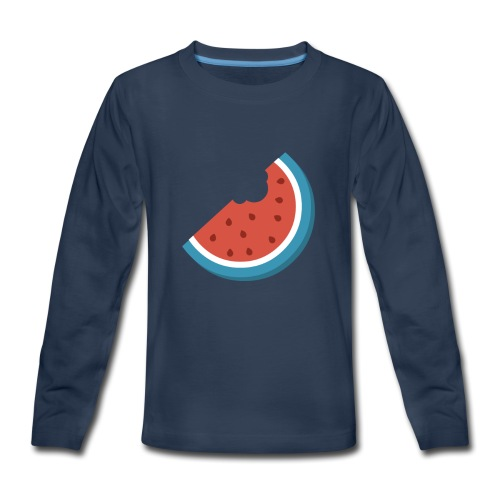 Summer Periscope Melon - Kids' Premium Long Sleeve T-Shirt