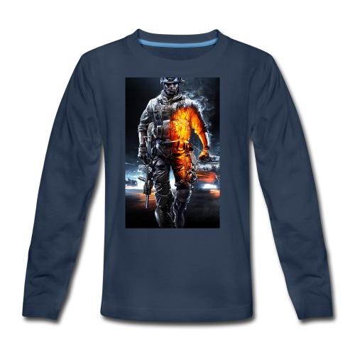 Cod fan - Kids' Premium Long Sleeve T-Shirt