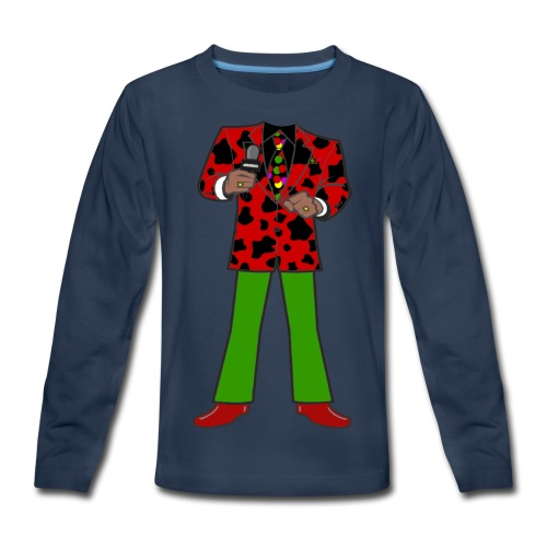 The Red Cow Suit - Kids' Premium Long Sleeve T-Shirt