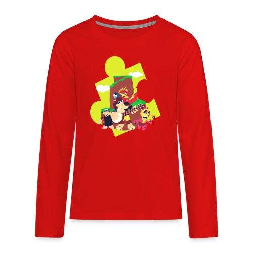 banjo - Kids' Premium Long Sleeve T-Shirt
