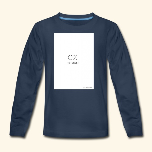 Unbothered - Kids' Premium Long Sleeve T-Shirt