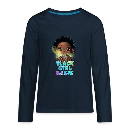 Black Girl Magic - Kids' Premium Long Sleeve T-Shirt